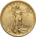 1923 $20 Double Eagle St Gaudens Head Gold Coin Philadelphia