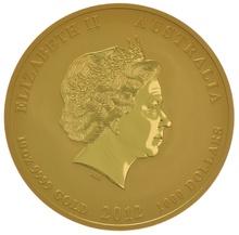 2012 10oz Year of the Dragon Lunar Gold Coin