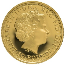 2003 Half Ounce Proof Britannia Gold Coin