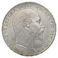 1902 Edward VII Silver Crown - About Uncirculated