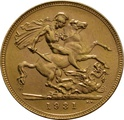 1931 Gold Sovereign - King George V - SA