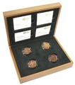 Gold Proof 2010-2011 Capital Cities of the United Kingdom £1 set Boxed