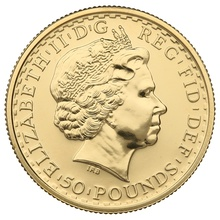 2007 Half Ounce Britannia Gold Coin