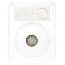 1888 Queen Victoria Silver Groat CGS82