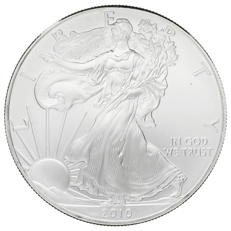 2010 1oz American Eagle Silver Coin