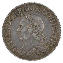 1658 Cromwell Shilling