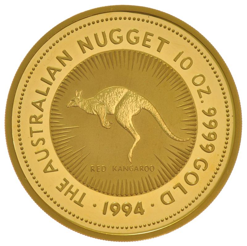 1994 10oz Nugget Gold Coin