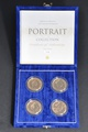 Uncirculated Gold Five-Pound Sovereign - Portrait Collection Boxed