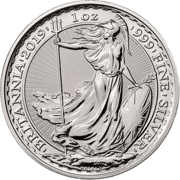 2019 Britannia One Ounce Silver Coin