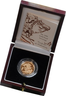 Gold Proof 1999 Sovereign Boxed