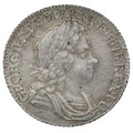 1723 George I Silver Shilling SCC - About Extremely Fine