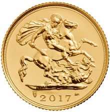 2017 Half Sovereign Gold Coin Gift Boxed