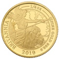 2019 Quarter Ounce Proof Britannia Gold Coin