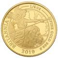 2019 Quarter Ounce Proof Britannia Gold Coin