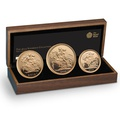 2013 Gold Proof Sovereign Three Coin Set Boxed