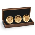 2013 30th Anniversary of the £1 One Pound Gold Proof Three-Coin Set Boxed