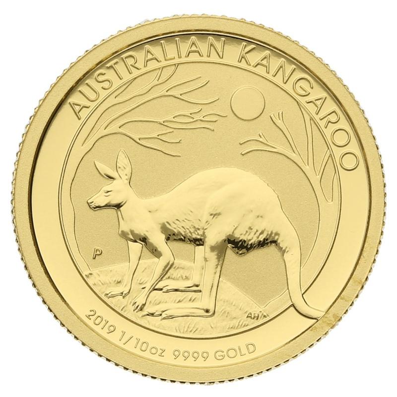 2019 Tenth Ounce Gold Australian Nugget