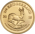 2018 Quarter Ounce Krugerrand Gold Coin