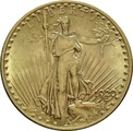1920 $20 Double Eagle St Gaudens Gold coin Philadelphia