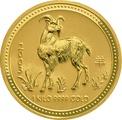 2003 1kg Gold Australian Year of the Goat