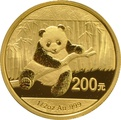 2014 1/2 oz Gold Chinese Panda Coin
