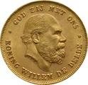 10 Guilders Netherlands Willem III 1875 - 1889
