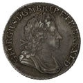 1723 George I Silver Shilling