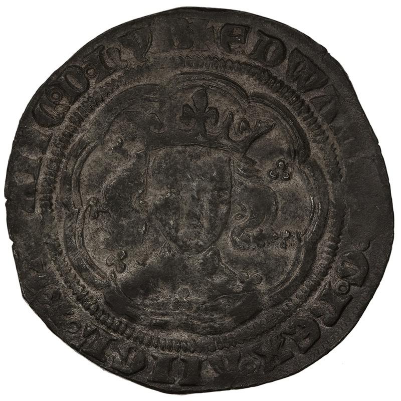 1369-77 Edward III Silver Groat - Post Treaty
