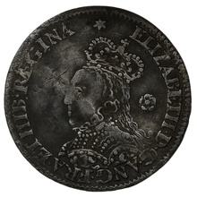 1562 Elizabeth I Milled Silver Threepence mm Star