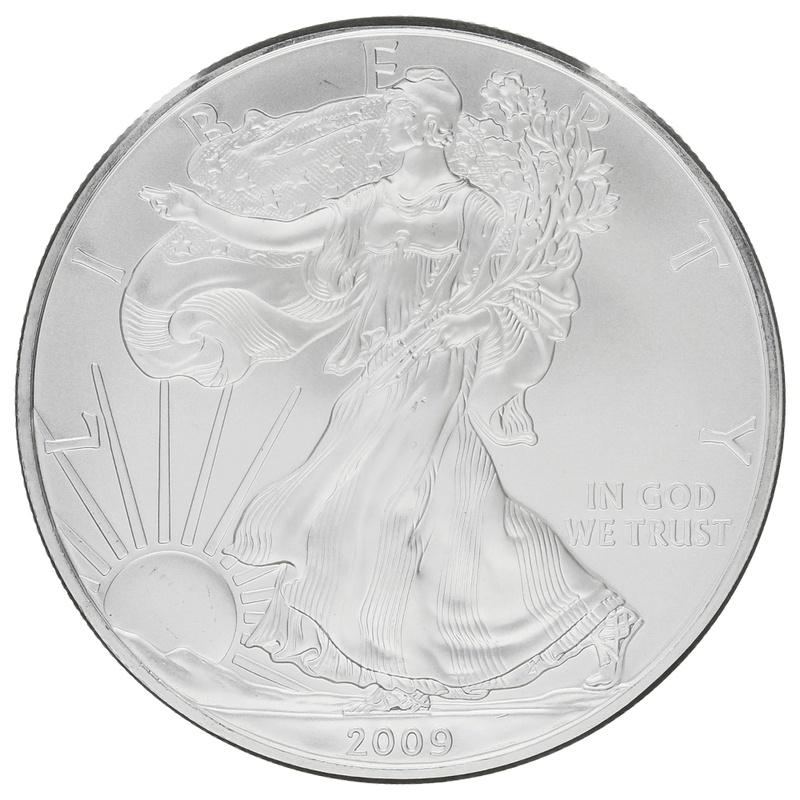 2009 1oz American Eagle Silver Coin
