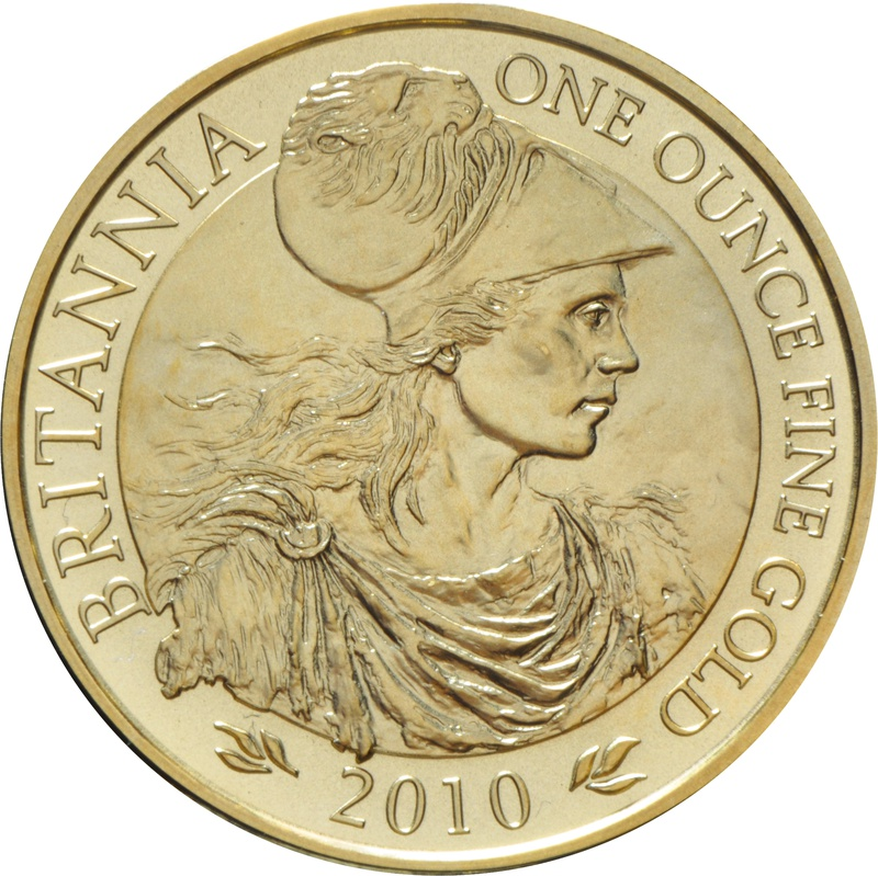 2010 Gold Britannia One Ounce Coin