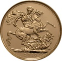 2010 Gold Sovereign - Elizabeth II Fourth Head