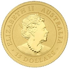 2020 Tenth Ounce Gold Australian Nugget