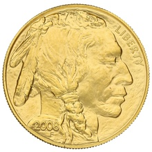2008 1oz American Buffalo Gold Coin