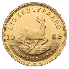 1988 Proof Tenth Ounce Krugerrand