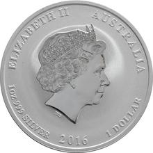 1oz Australian Lunar Year of the Monkey Silver Coin