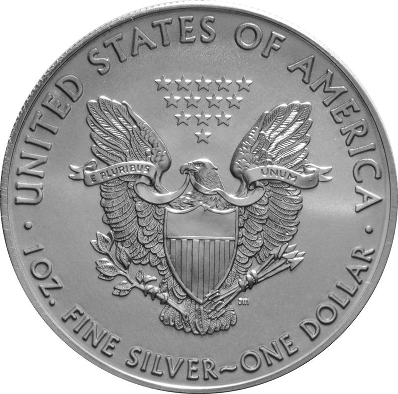1996 1oz American Eagle Silver Coin