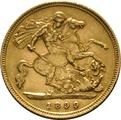Gold Half Sovereigns - London