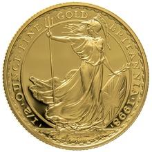 1998 Half Ounce Proof Britannia Gold Coin