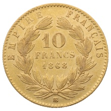 10 French Francs - Best Value