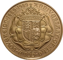 1989 £2 Two Pound Proof Gold Coin (Double Sovereign)