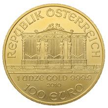 2010 1oz Austrian Gold Philharmonic Coin