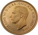 1950 Gold Half Sovereign