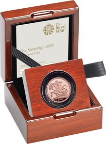 Gold Proof 2020 Sovereign Boxed