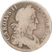 1664 Charles II Silver Crown