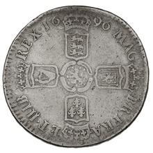 1696 William III Halfcrown