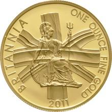 2011 Proof Britannia Gold 4-Coin Set Boxed