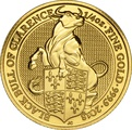 2018 1/4oz Gold Coin, Black Bull of Clarence - Queen's Beast