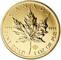 2013 1oz Canadian Maple Gold Coin