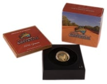 Perth Mint 2012 Discover Australia – Goanna 1/2oz Gold Proof Coin Boxed